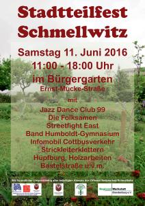 Plakat Stadtteilfest 2016