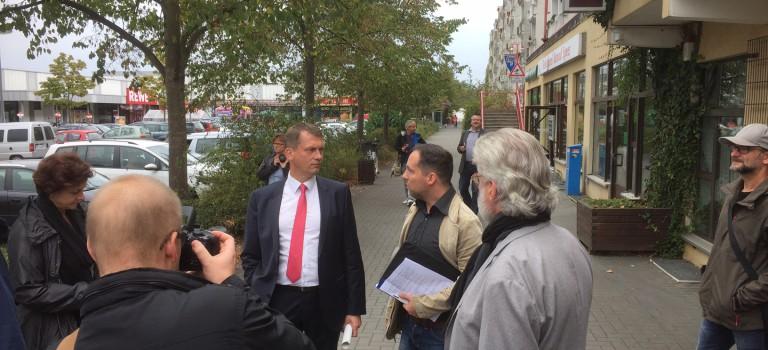 Erste Pressemeinungen zum Rundgang des Oberbürgermeisters in Neu-Schmellwitz
