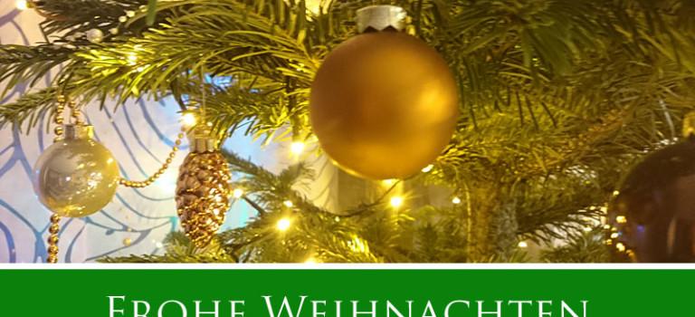 Weihnachtswünsche und Termine 2018